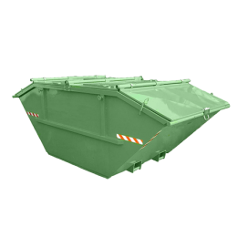 Kontejner za smeće zatvoreni, 7 m³