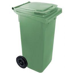 Kanta za smeće plastična 120 litara sa poklopcem i točkovima