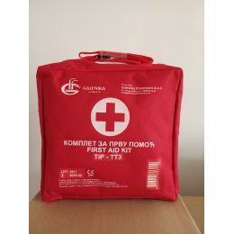 Komplet za pružanje prve pomoći - torba (za do 20 zaposlenih)