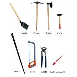 Komplet alata za vanredne situacije